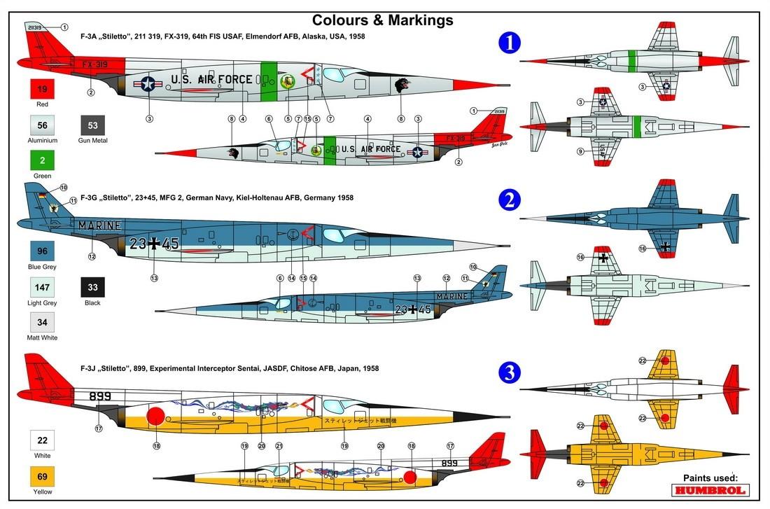 Douglas X-3 Stiletto in Service
