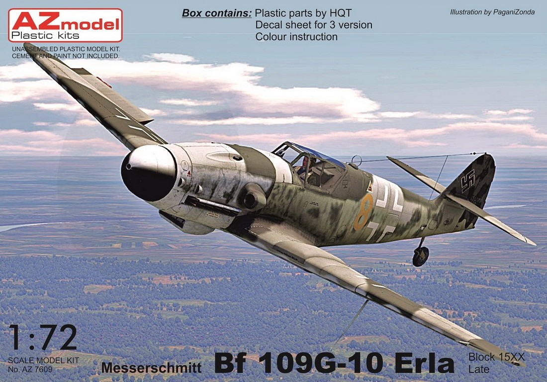 Bf109G-10 Erla Late (block 15XX)