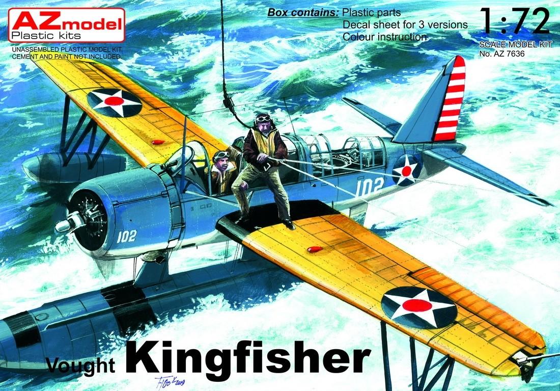 OS2U Kingfisher USN floatplane