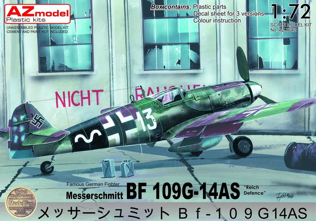 Bf109G-14AS Reich Defence