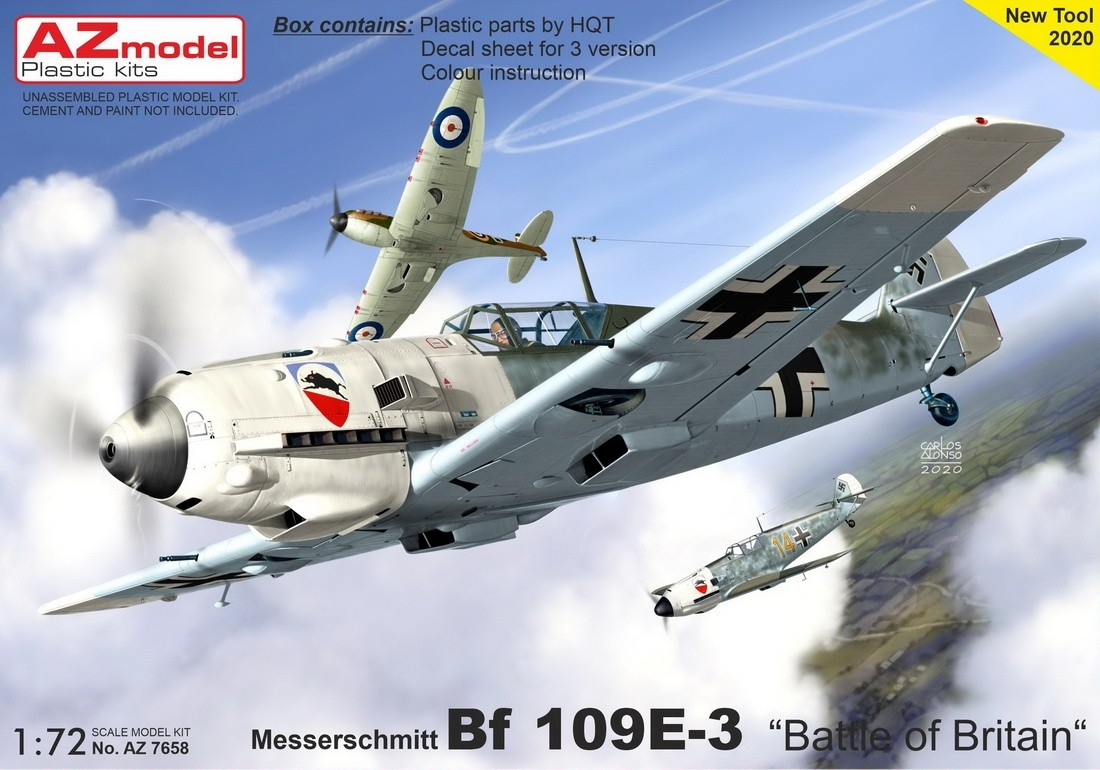 Bf109E-7 Schlacht Emil NEW TOOL