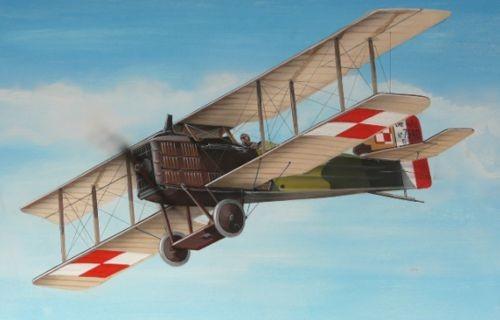 Breguet 14A Cedals France & Poland
