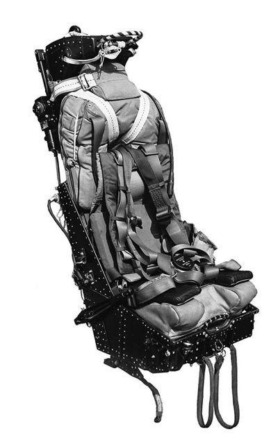 2 x BAC/EE Lightning F.2A / F.6 Martin Baker Mk 4 Ejection Seats