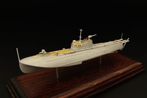 Tupolev G-5 mod.XIII, soviet torpedo boat w. etched parts