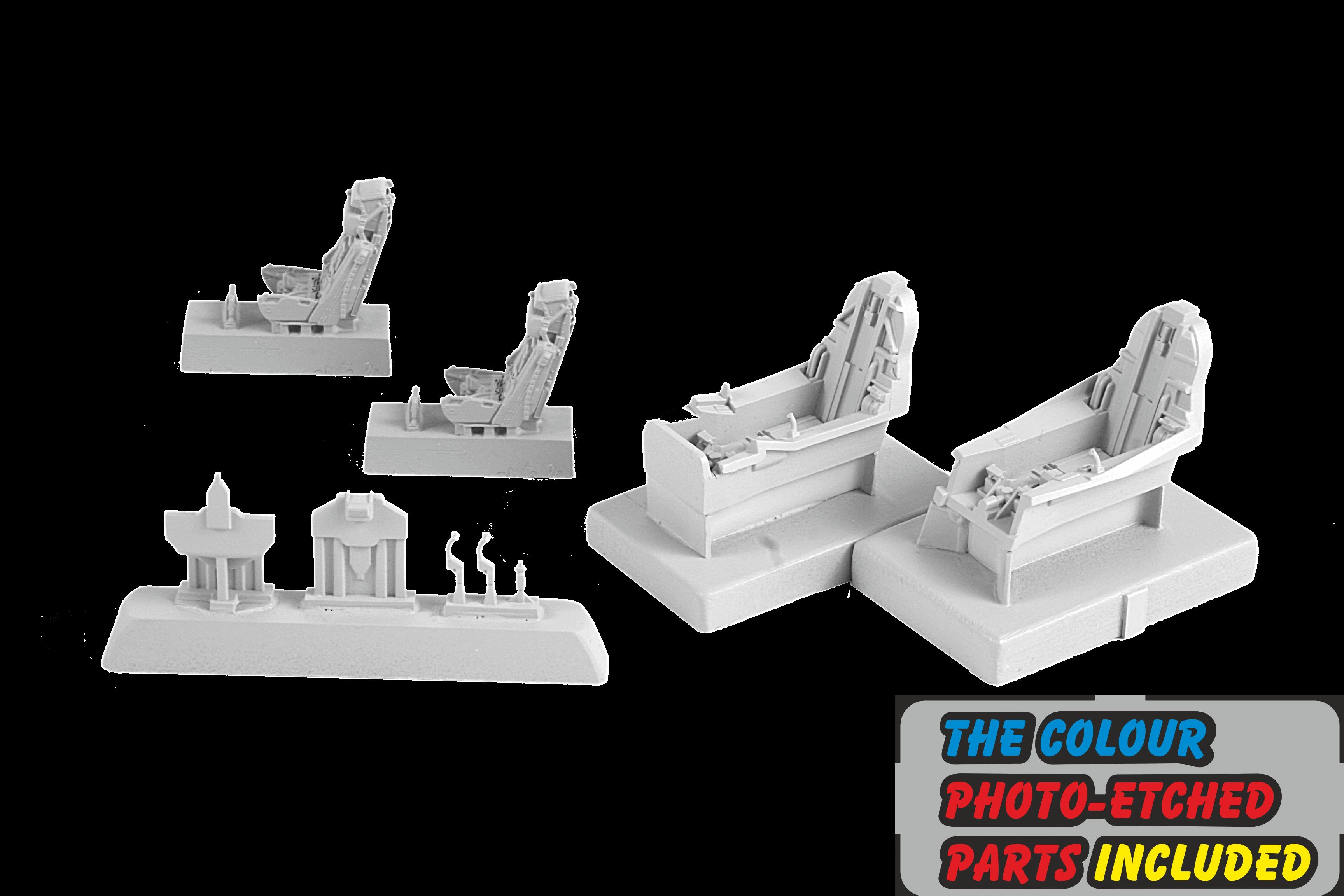 SAAB Sk37 Viggen Cockpit Set (SH)