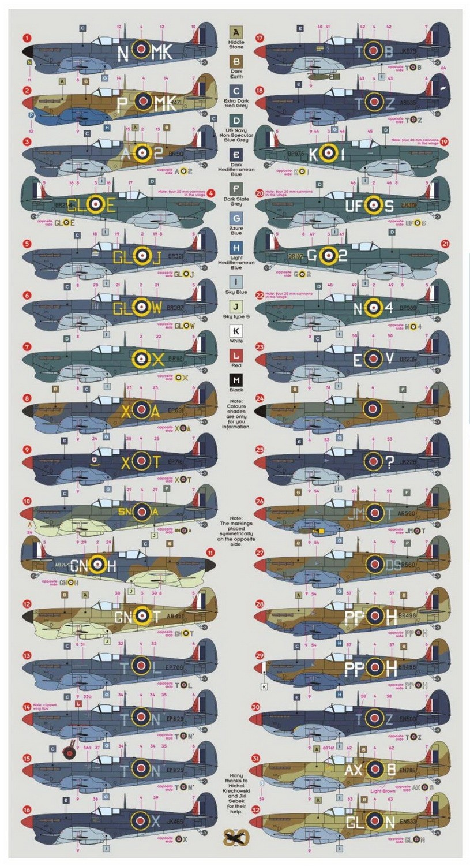 Spitfire Malta Aces, 32 a/c