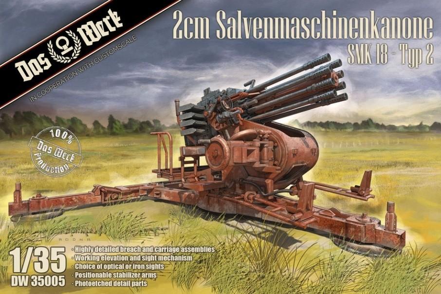 2cm Salvenmaschinenkanone SMK 18 - Typ 2