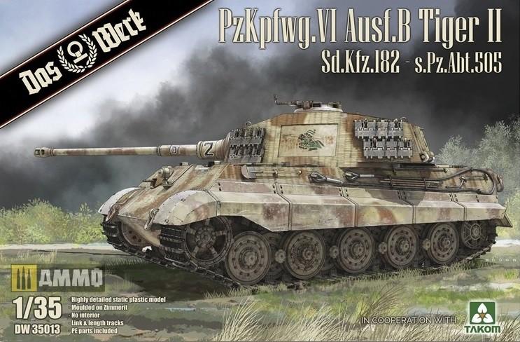 Königstiger SdKfz 182 - s.Pz.Abt.505 mit Zimmerit