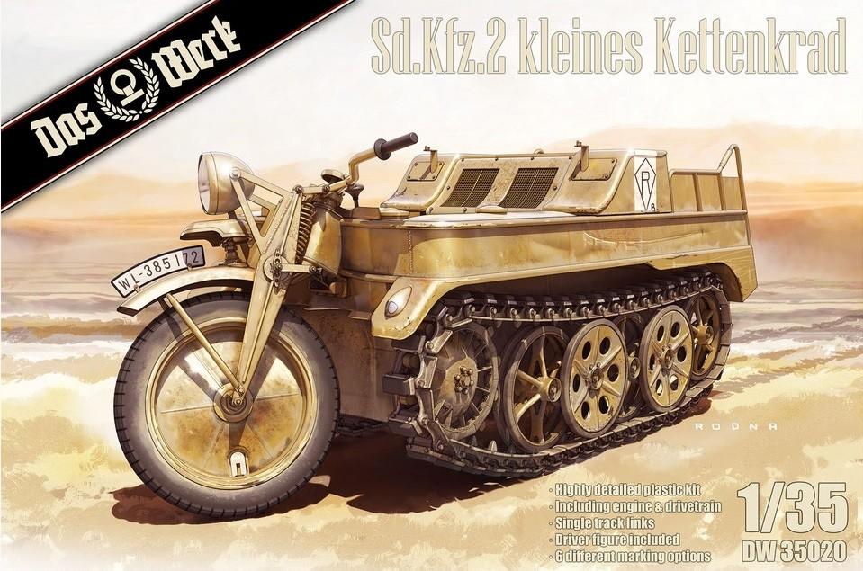 SdKfz 2 kleines Kettenkrad