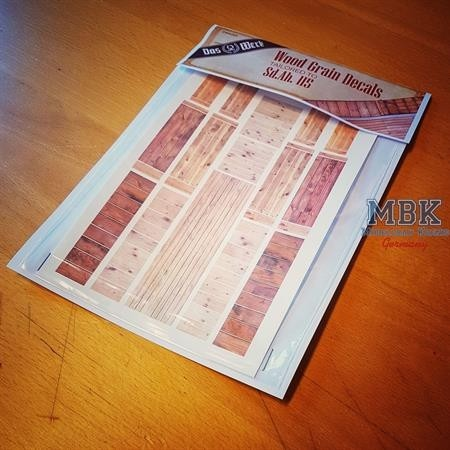 Wood grain decal for SdAh 115  (DW35003)