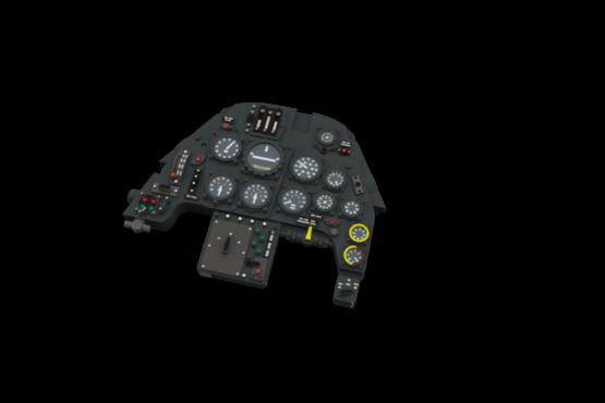 Bf109G-10 LööK (EDU 1/48) incl. colour seat belts