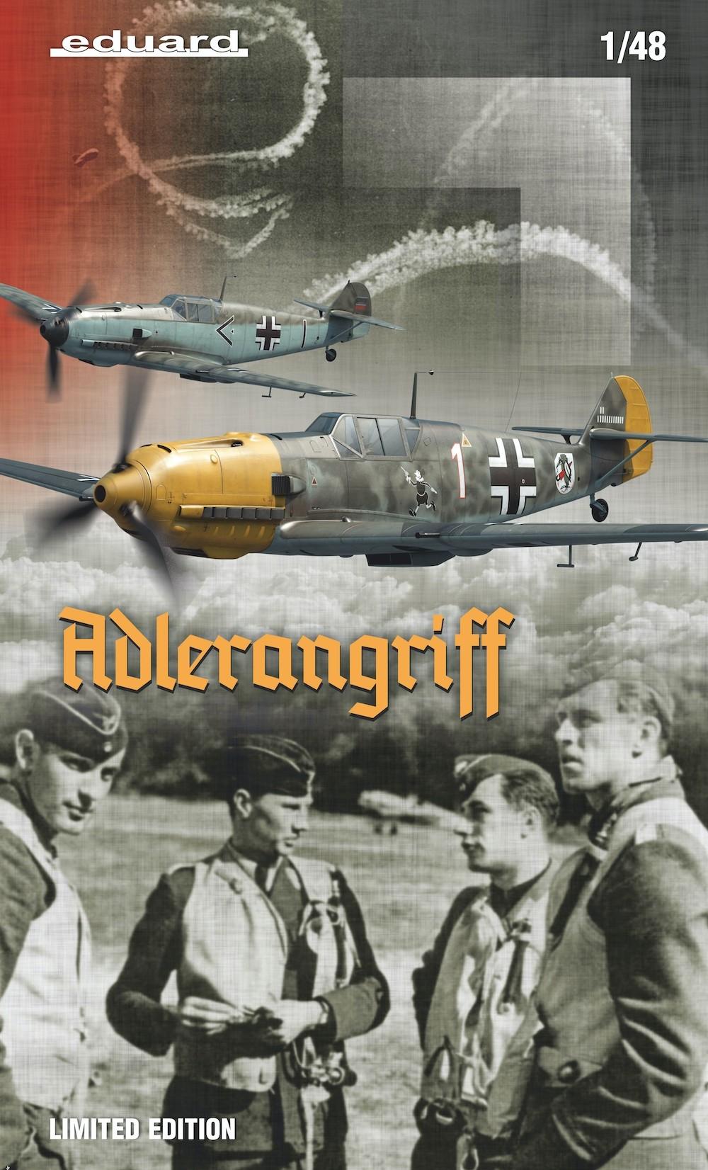 ADLERANGRIFF Limited edition kit Bf109E 1/48