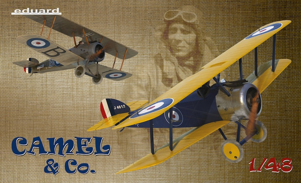 Sopwith F.1 Camel, Camel & Co, Limited NEW TOOL, 2 MODELS