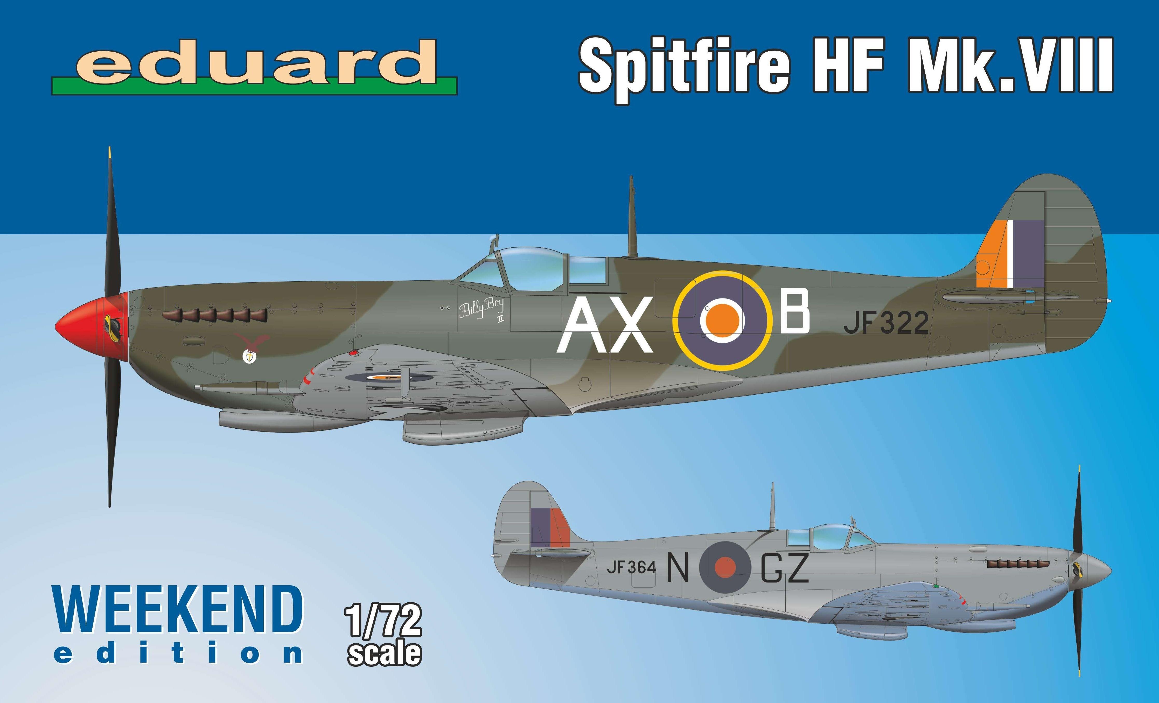 Supermarine Spitfire HF Mk.VIII  WEEKEND EDITION