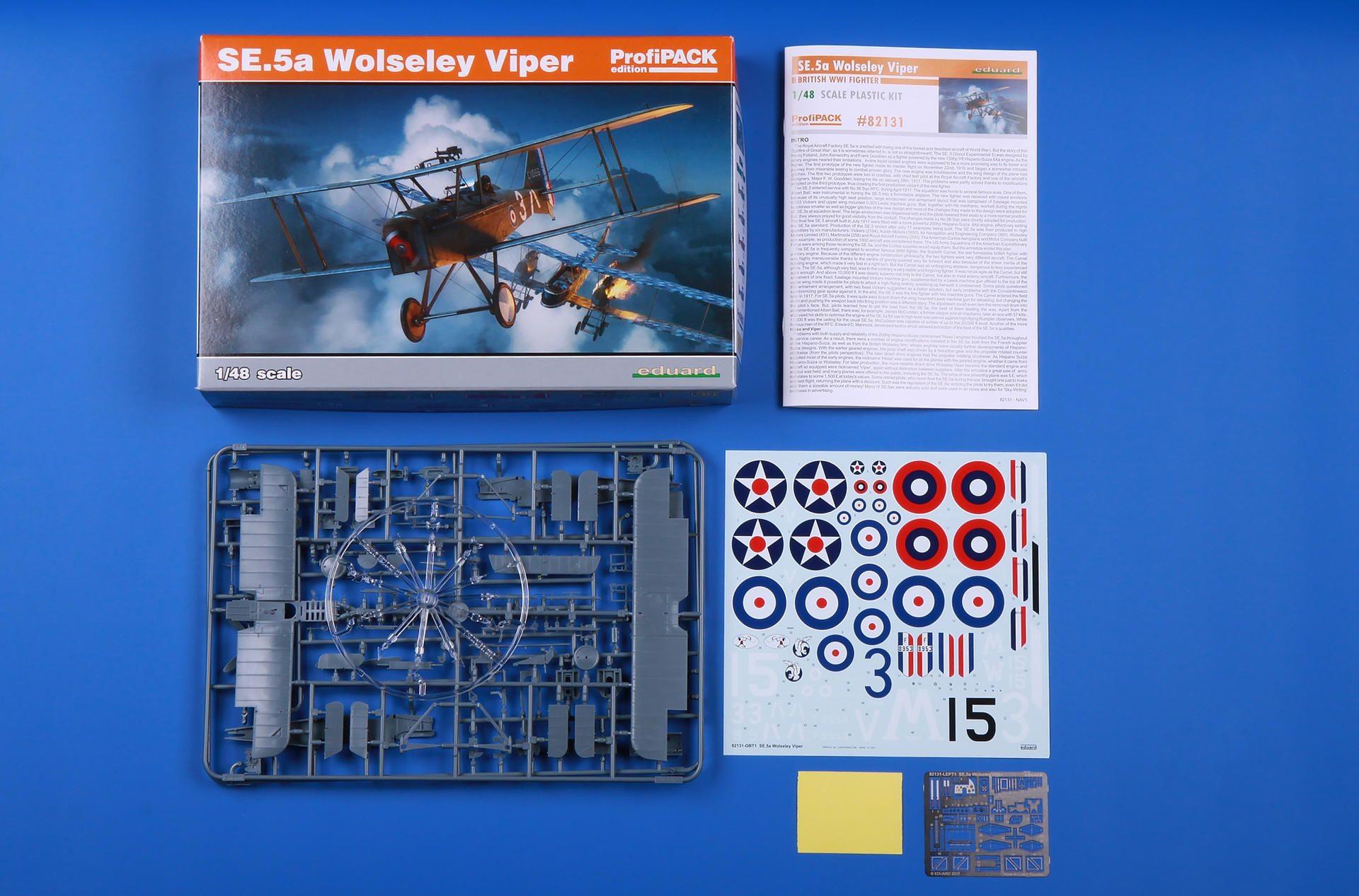 S.E.5a Wolseley Viper PROFIPACK