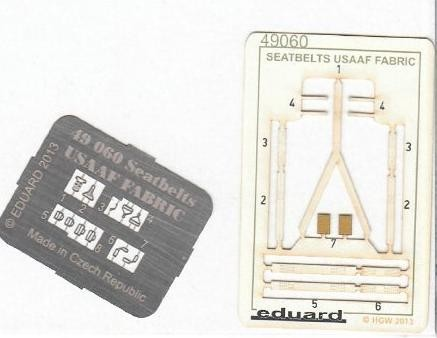 Seatbelts USAAF FABRIC