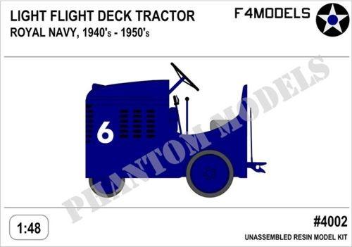 Light Flight Deck Tractor - Royal Navy 1940s-1950s