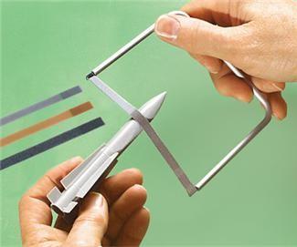 Flex-I-File Starter set. 1 frame, 6 bands
