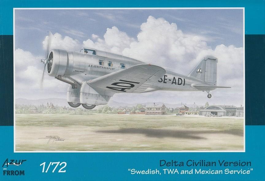 Northrop Delta. Sweden, TWA & Mexico.