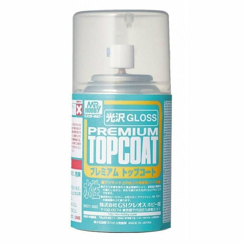 Mr. Premium Top Coat, klarlack, matt, 86 ml  aerosol