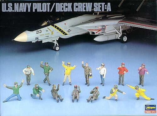 Deck crew + pilots