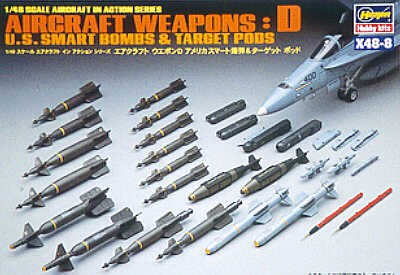 US smart bombs and target pods