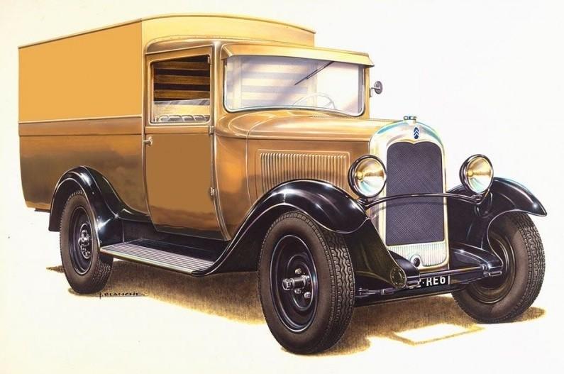 Citroen C4 Fourgonette 1928