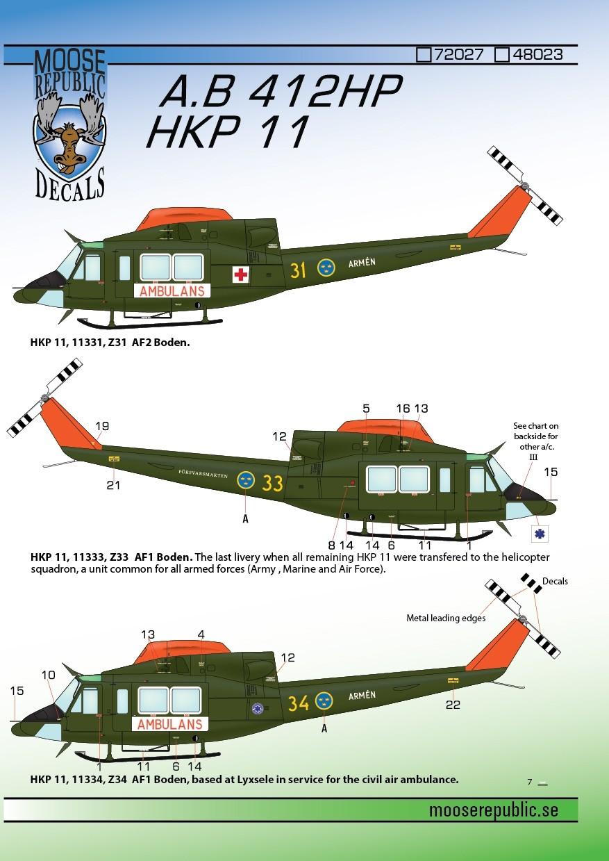 Hkp11 Agusta Bell 412HP