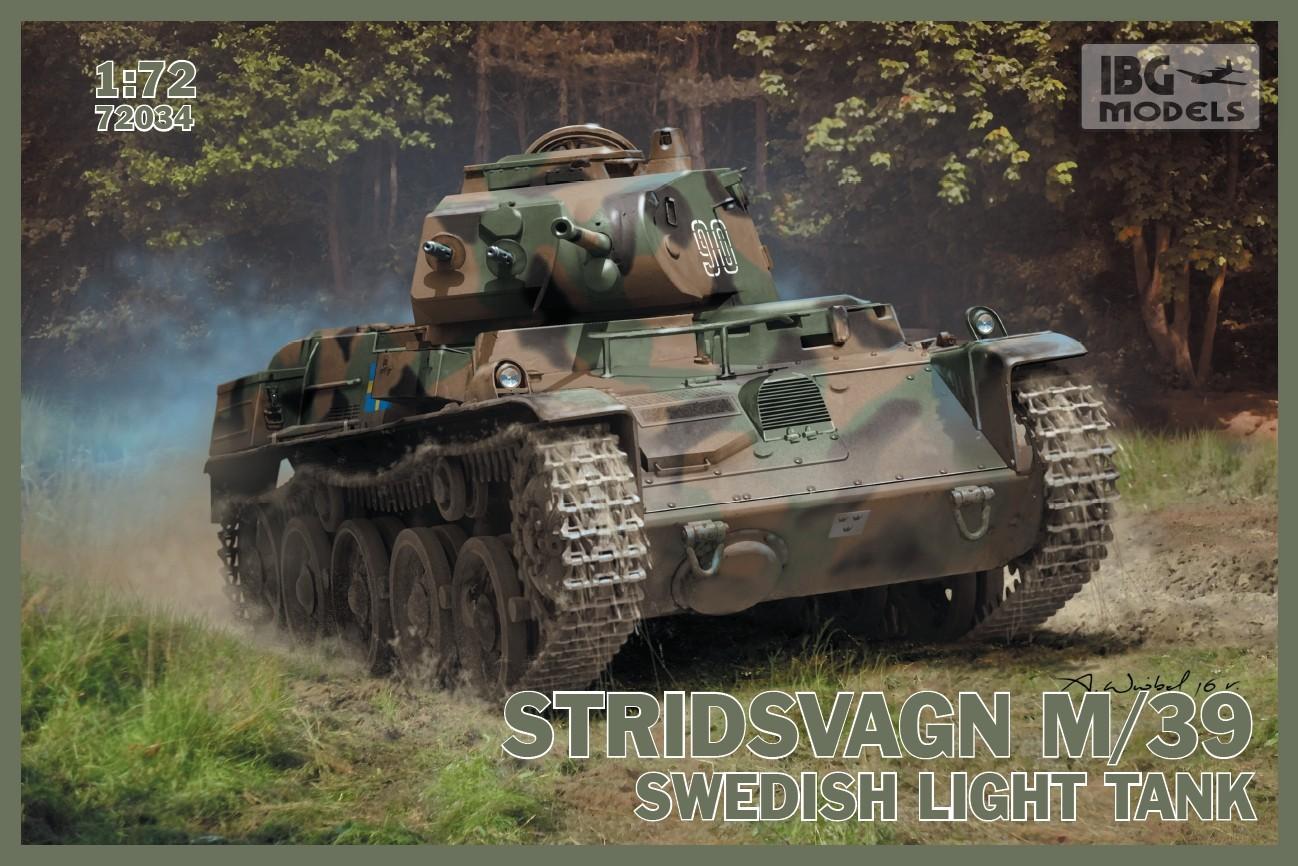 Stridsvagn M/39 Swedish light tank