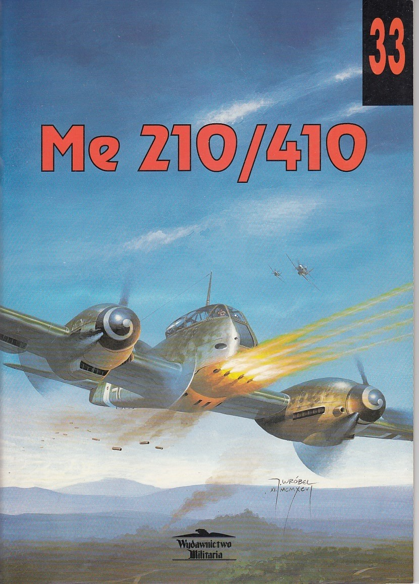 Me210/Me410, Militaria Aviation 33