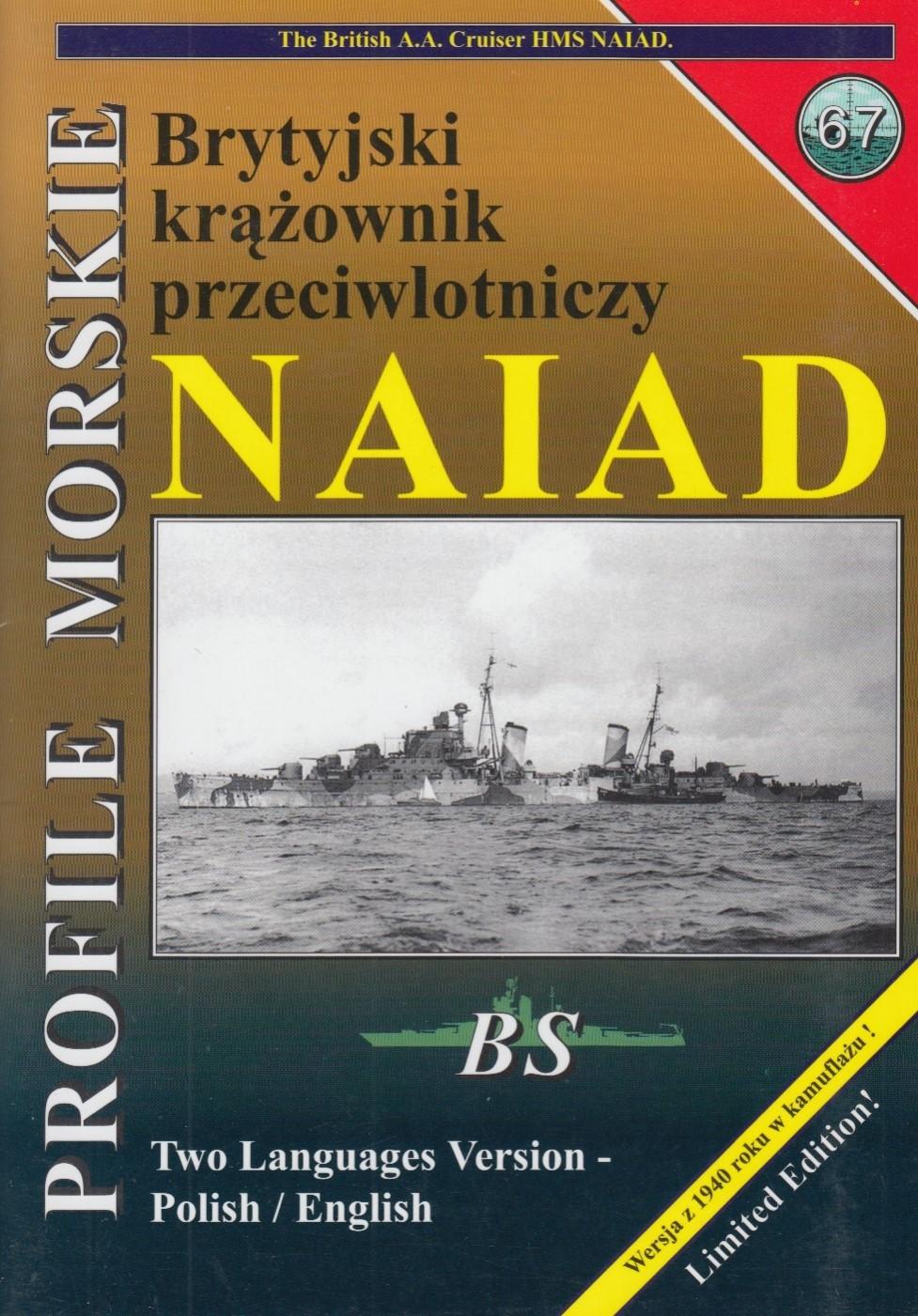AA cruiser HMS NAIAD