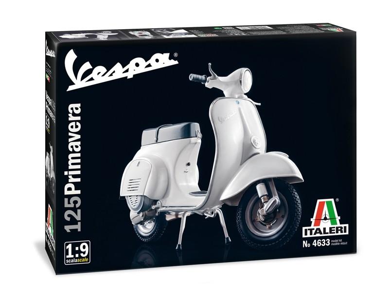 Vespa 125 Primavera 1/9 scale