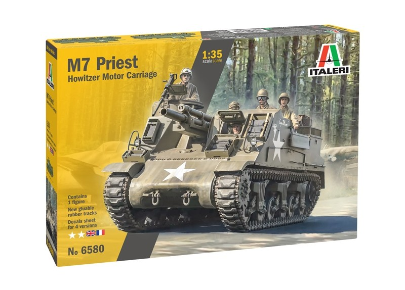 M7 Priest howitzer motor carriage