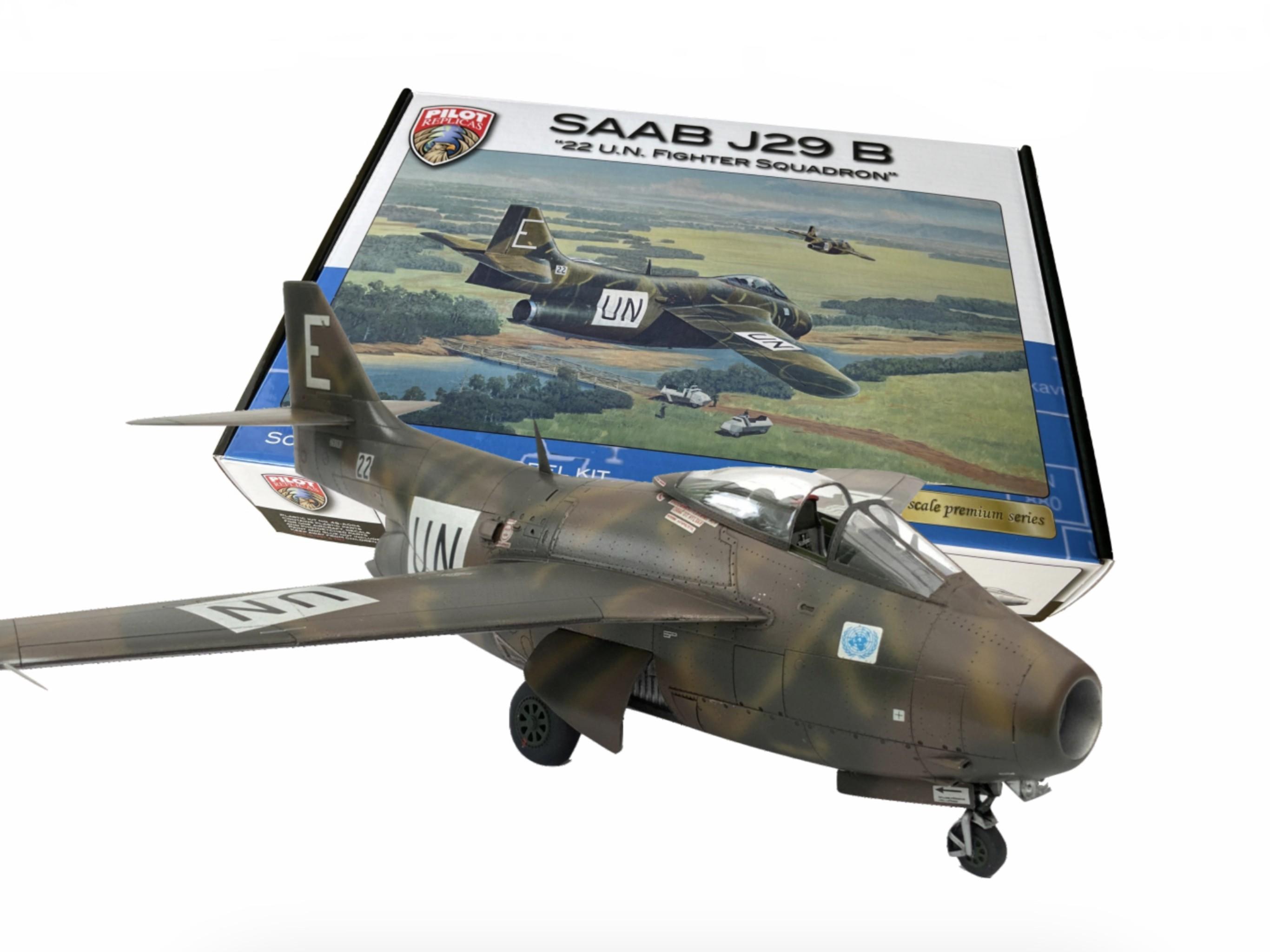 SAAB J29B Tunnan, 22 UN Fighter Sq. CONGO se info