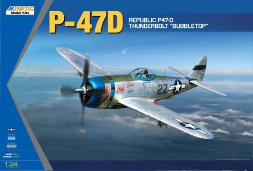 P-47D Thunderbolt bubbletop 1/24 scale
