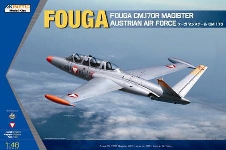 Fouga CM.170R Magister Austrian Air Force