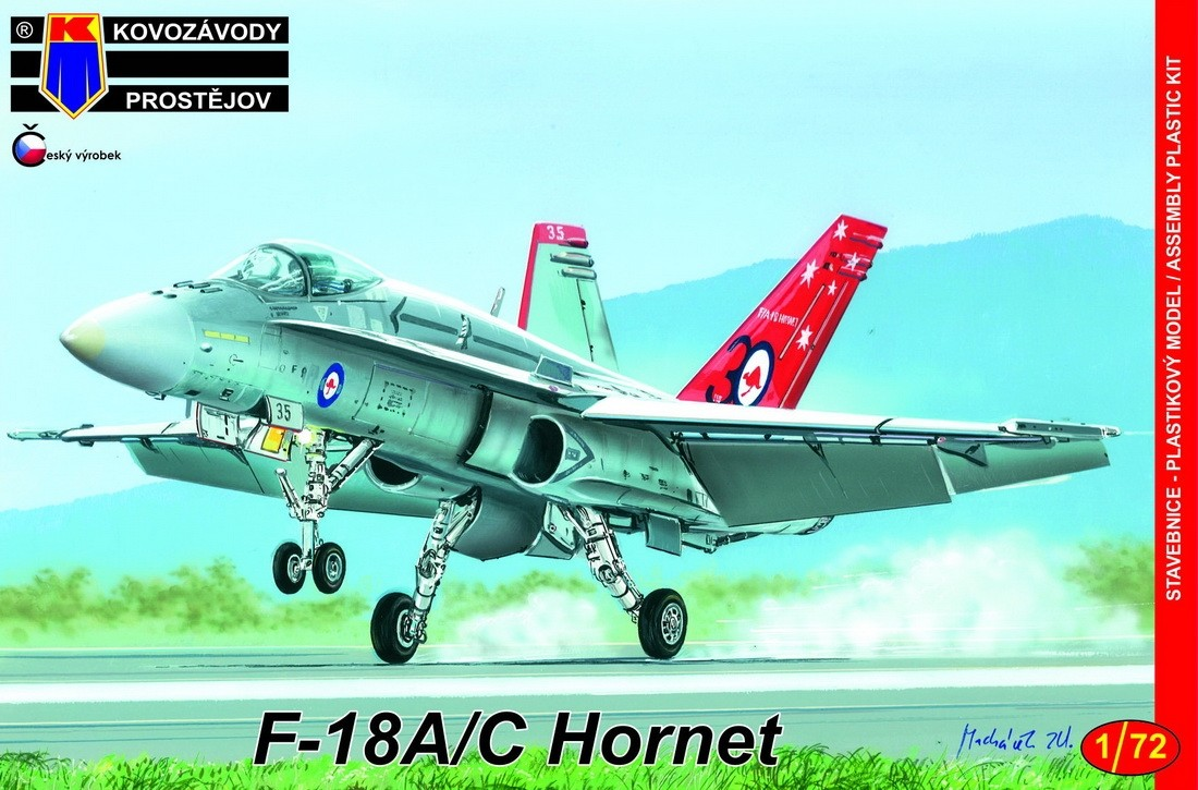 F-18A/C Hornet ,Colourful Livery ex-Italeri