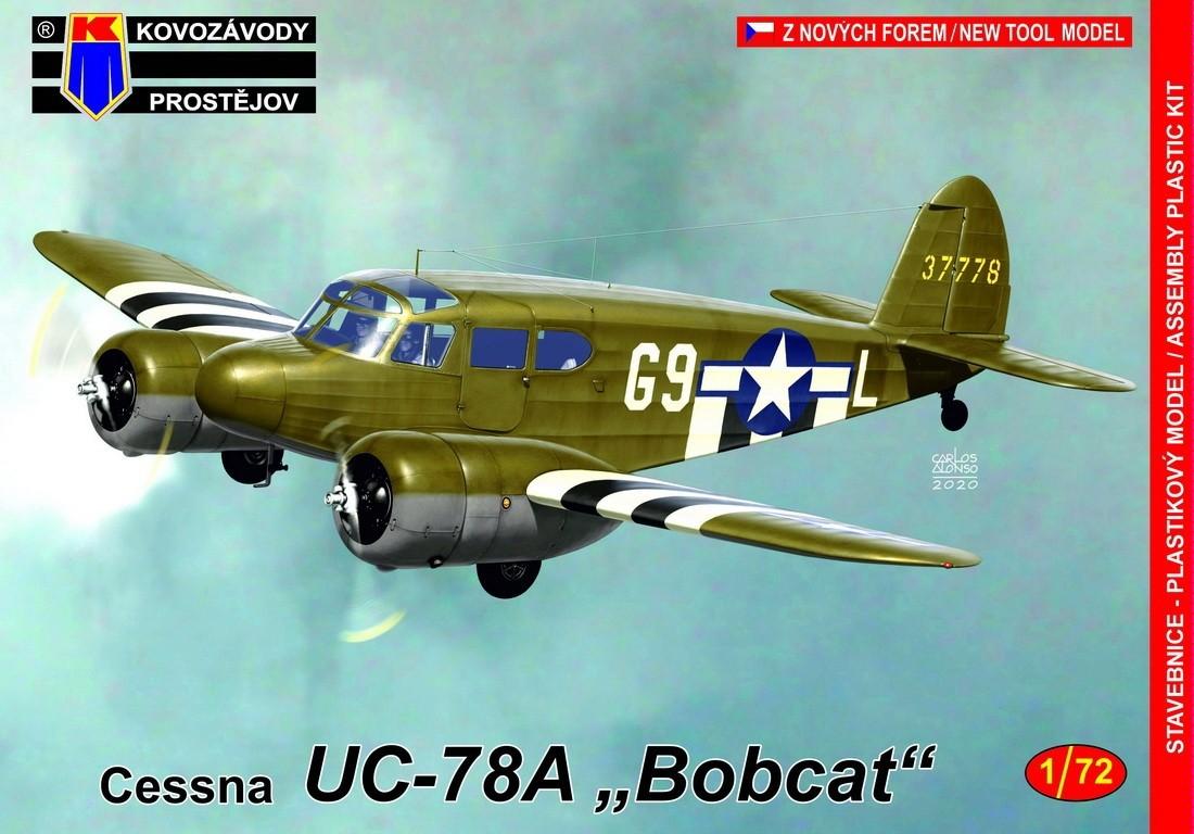 Cessna UC-78A Bobcat USAAF new mould
