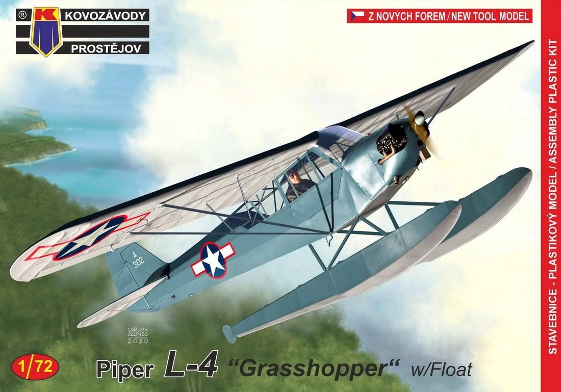 Piper L-4 Grasshopper on floats