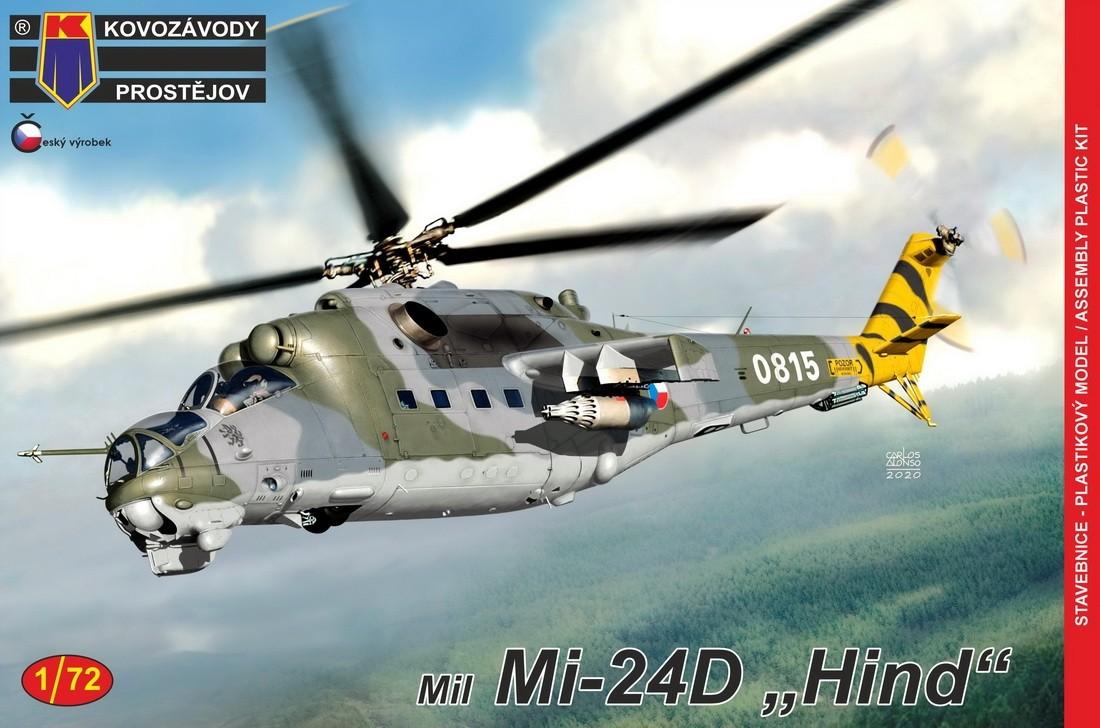 Mil Mi-24D Hind CzAF, Polish AF, East German AF (Ex Bilek)