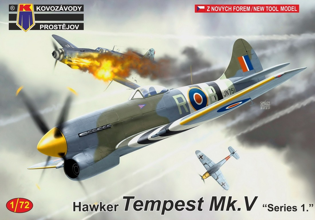 Hawker Tempest Mk.V series 1 NEW TOOL