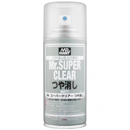 Klarlack matt, 170 ml Mr. Super Clear Matt, aerosol