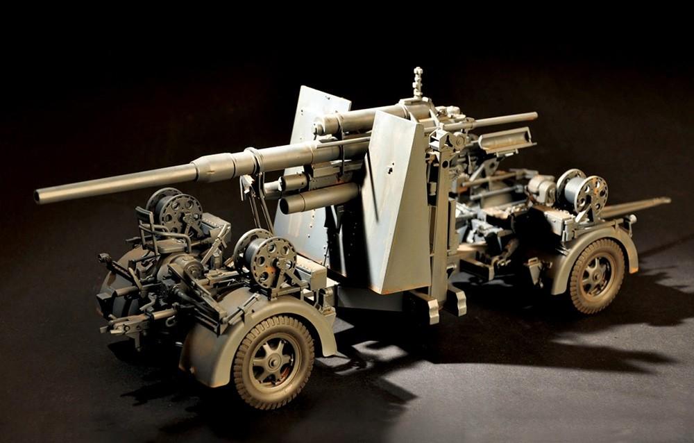 FlaK 36 88mm German Anti-Aircraft Gun (Ex Merit)