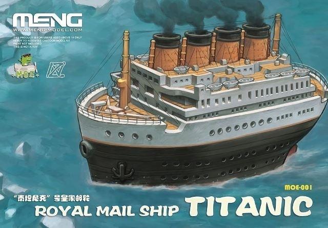 RMS Titanic Cartoon Ship