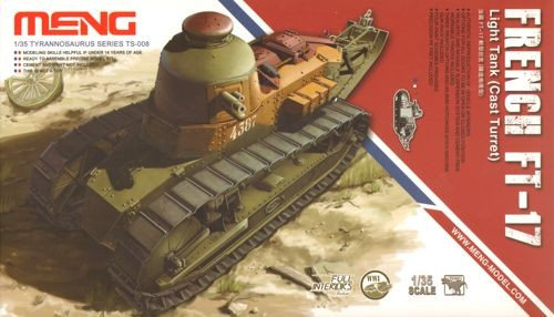 French FT-17 Light Tank