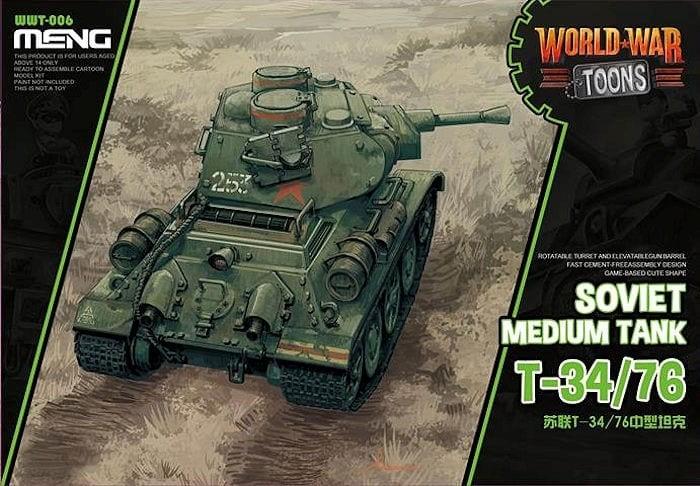 Soviet T-34/76S TOON