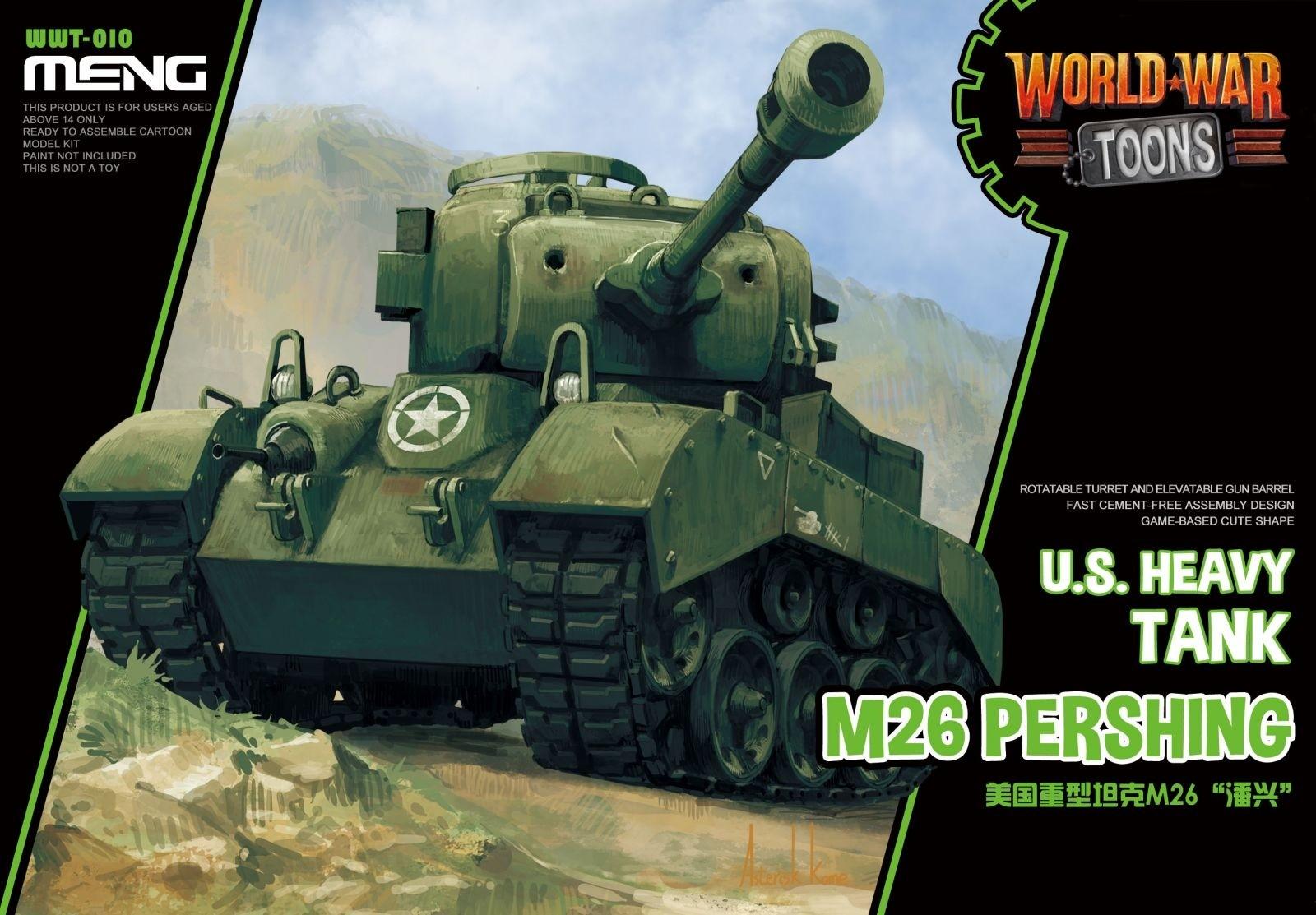 M26 Pershing US TOON