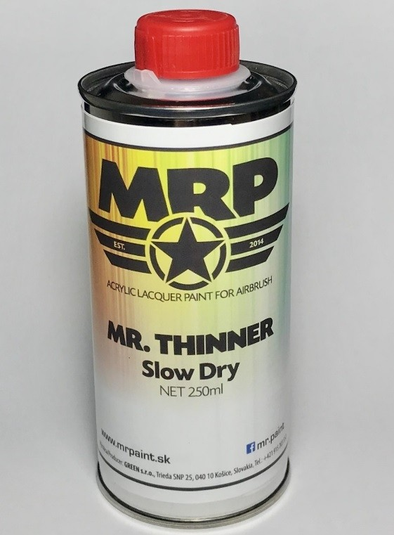 Thinner, Slow Dry 250 ml