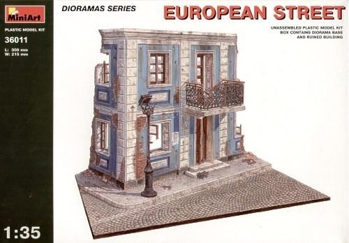 European Street Diorama