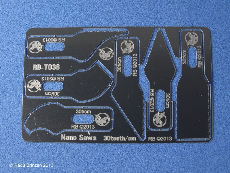 Nano Saws set (30 t/cm - 76 tpi)